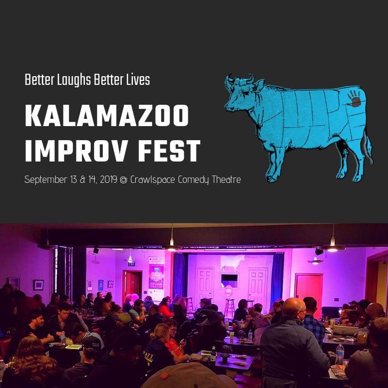 Announcing Kalamazoo Improv Fest 2019!