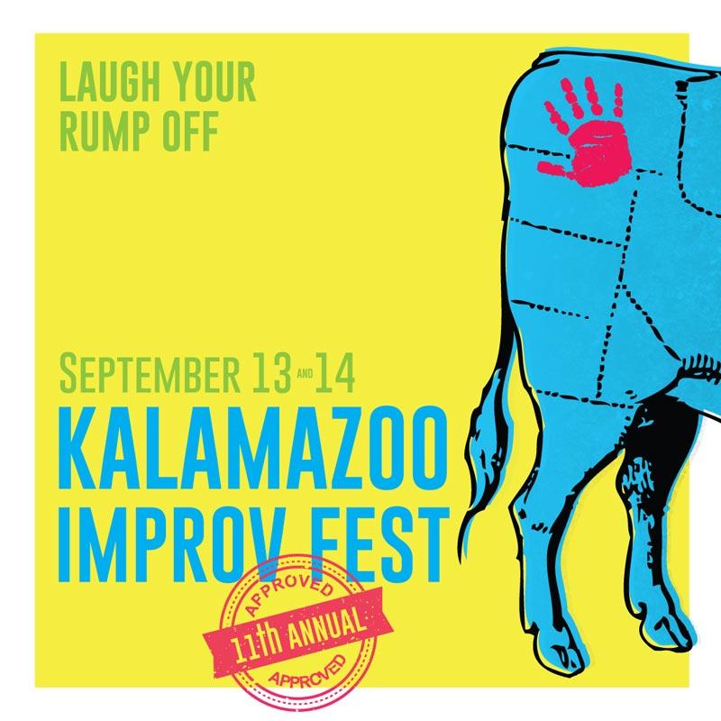Full Fest Lineup for Kalamazoo Improv Fest 2019