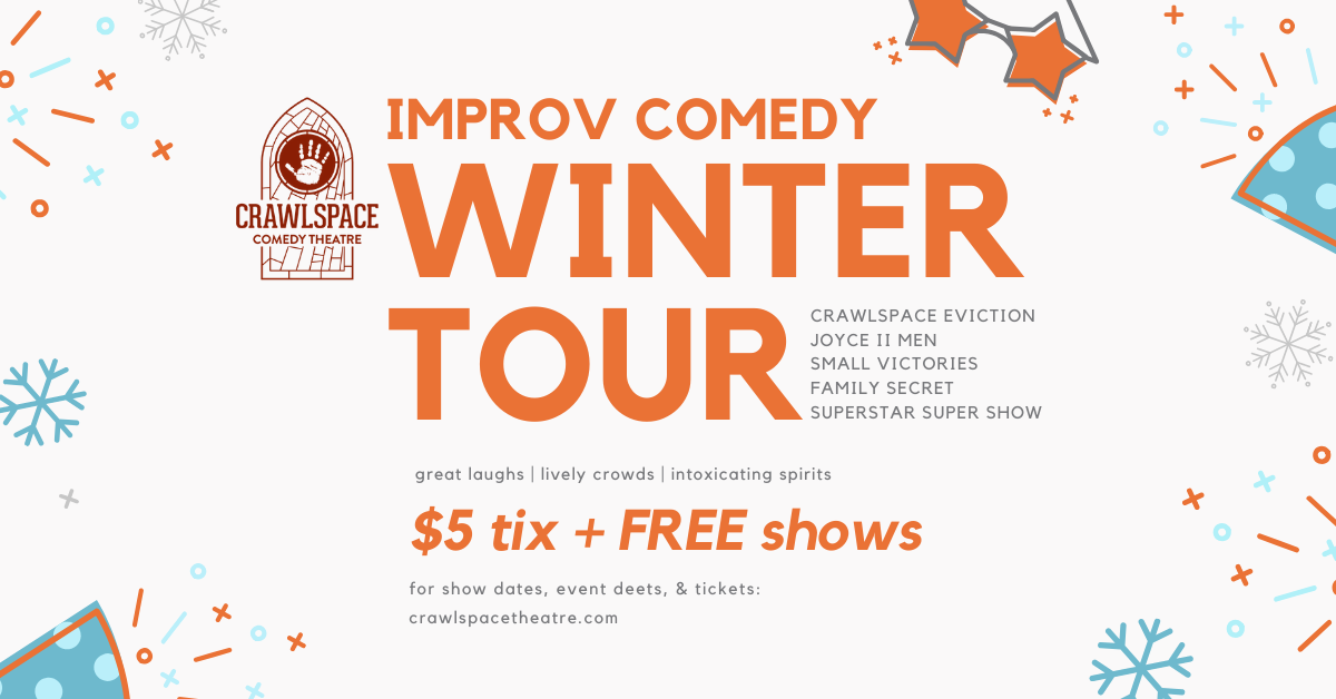 Live Improv Comedy is Back in 2020